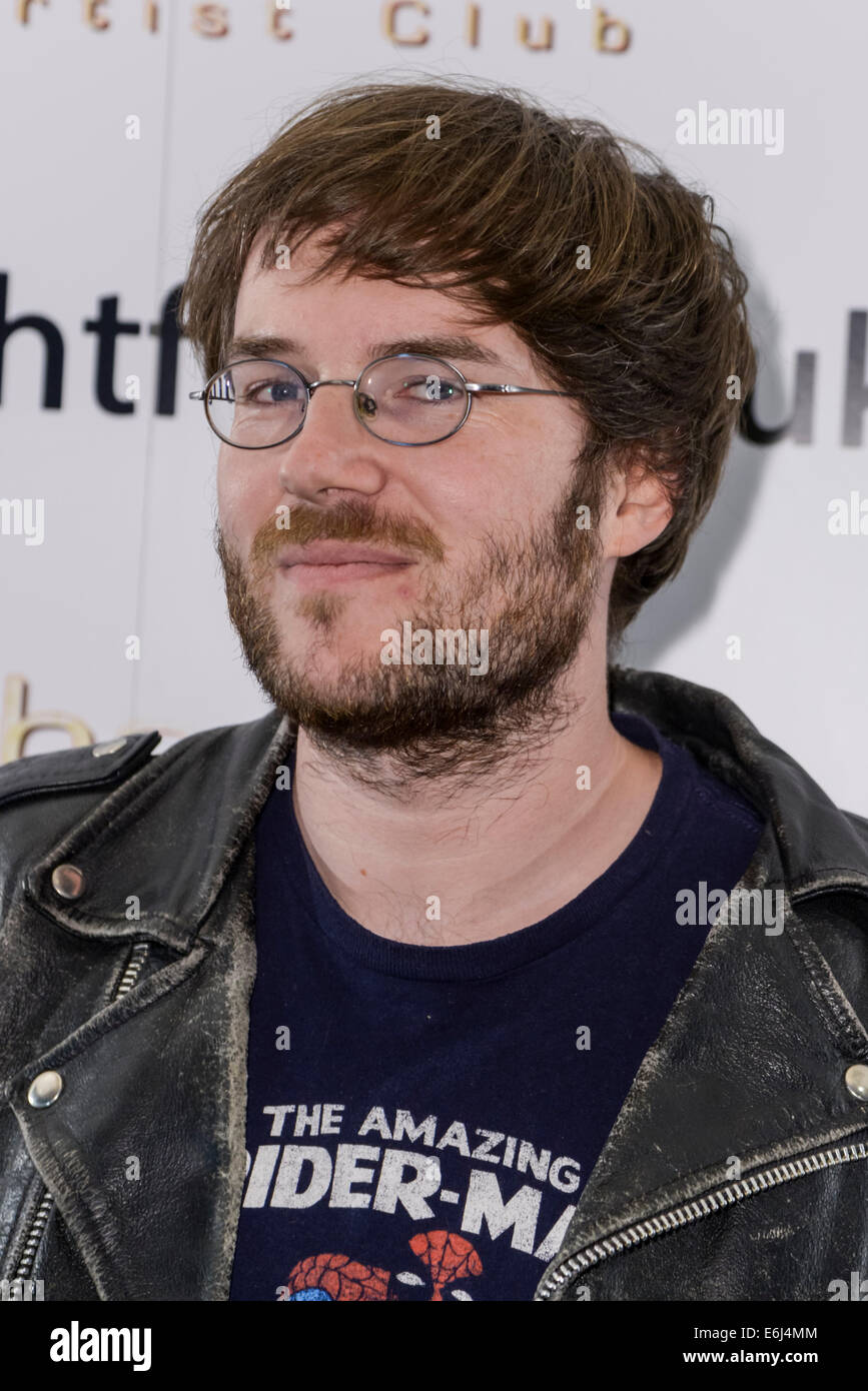 The 15th Film4 Frightfest on 24/08/2014 at The VUE West End, London. The UK premiere of The Samurai, the Director - Stock Image