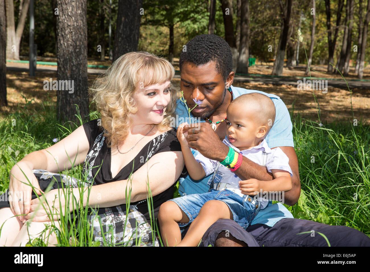 Interracial bride gangbang bred