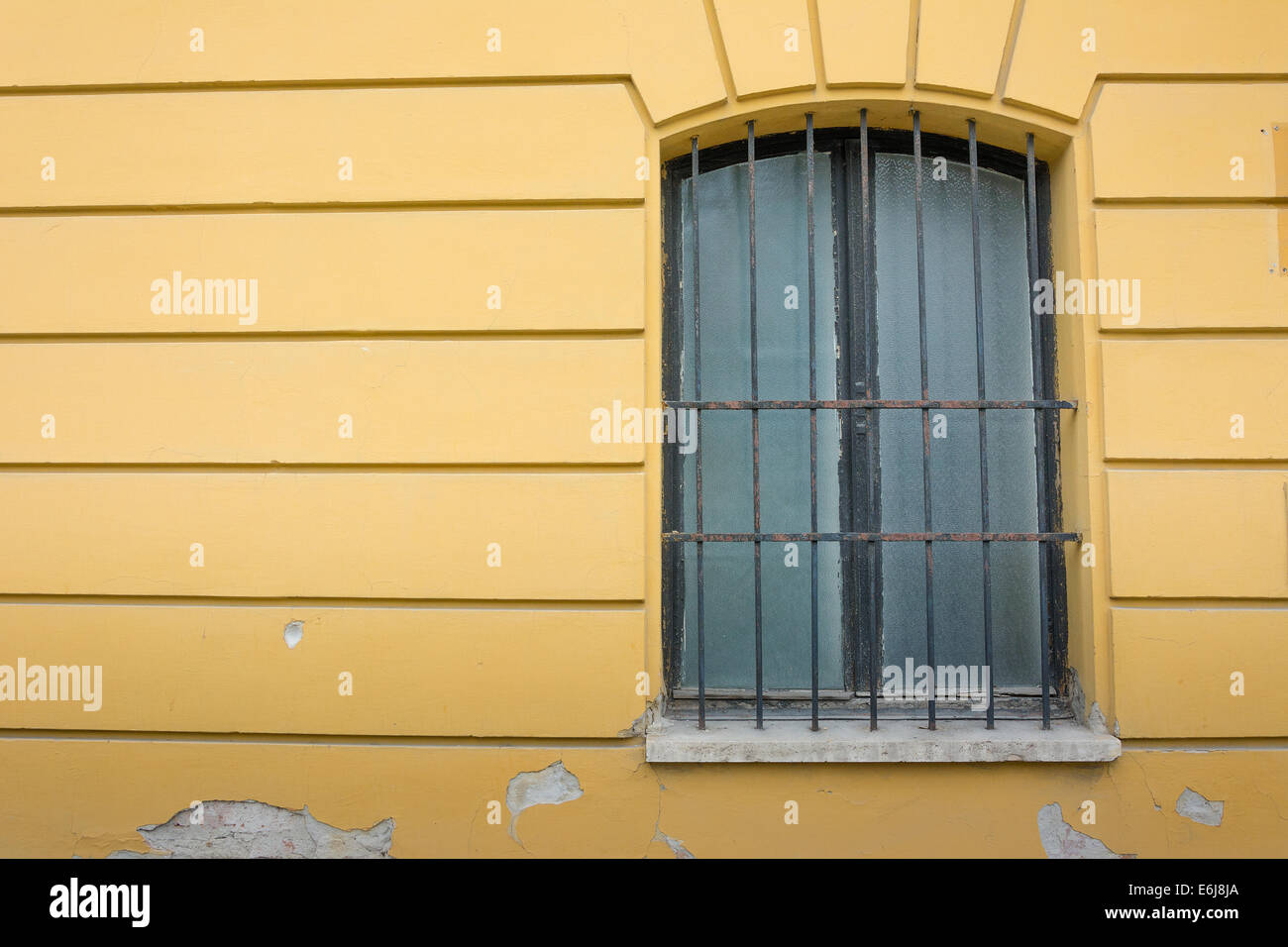 Iron Window Frame Stock Photos & Iron Window Frame Stock Images - Alamy