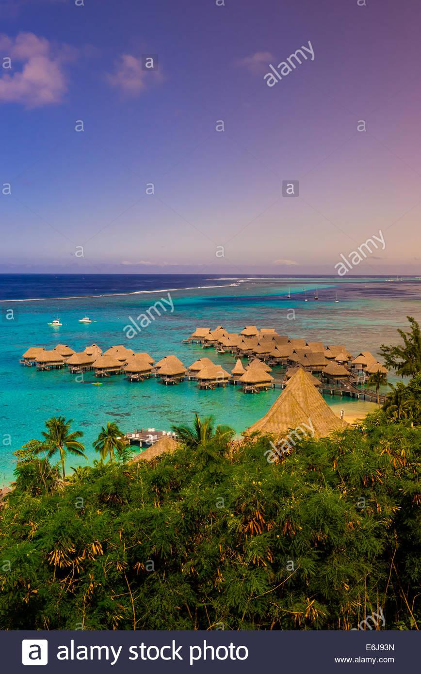 Overview Of Hotel Sofitel Moorea Ia Ora Beach Resort Island