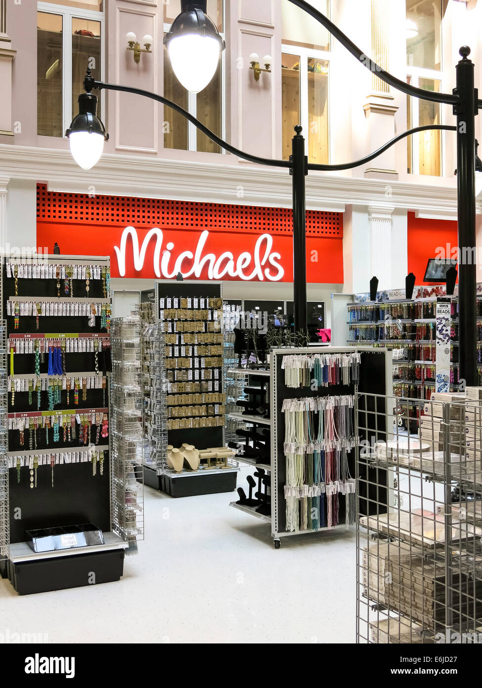 Michael S Arts And Crafts Store Nyc Stock Photo 72934799 Alamy