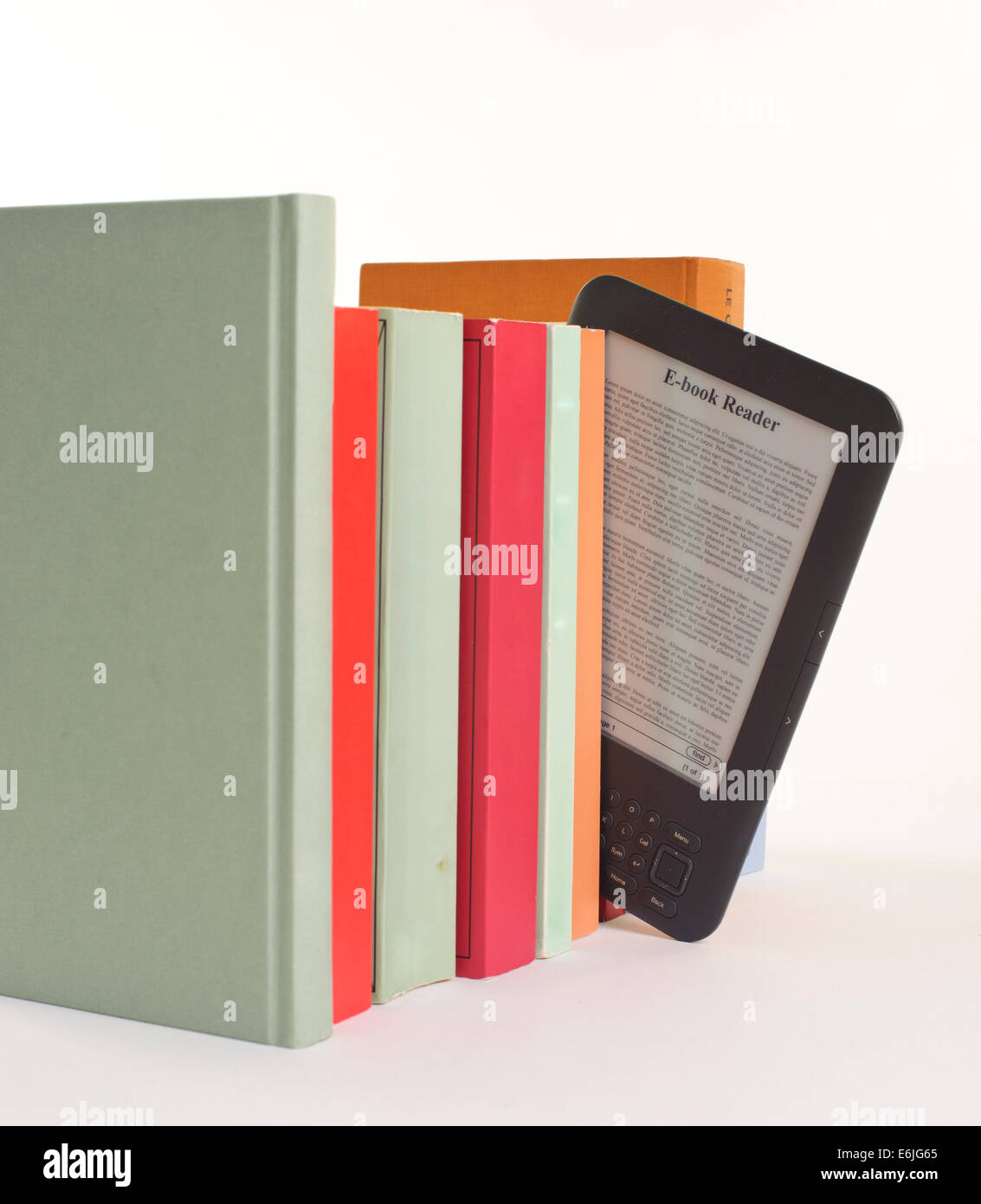 Ebook reader - Stock Image