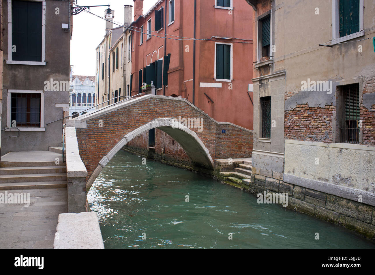 a view of city of Venice in Italy - Stock Image
