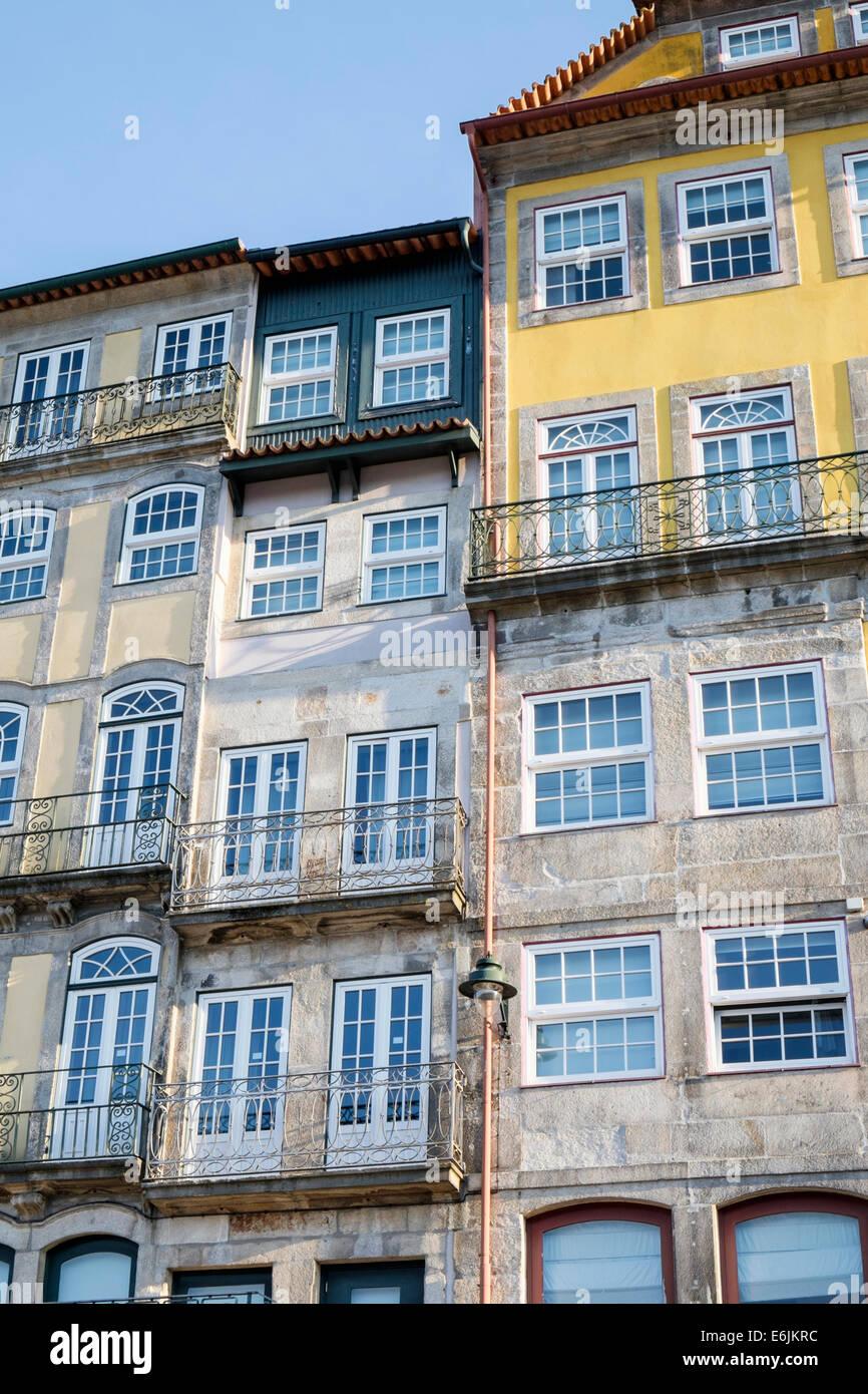 Ribeira district Oporto Portugal - Stock Image