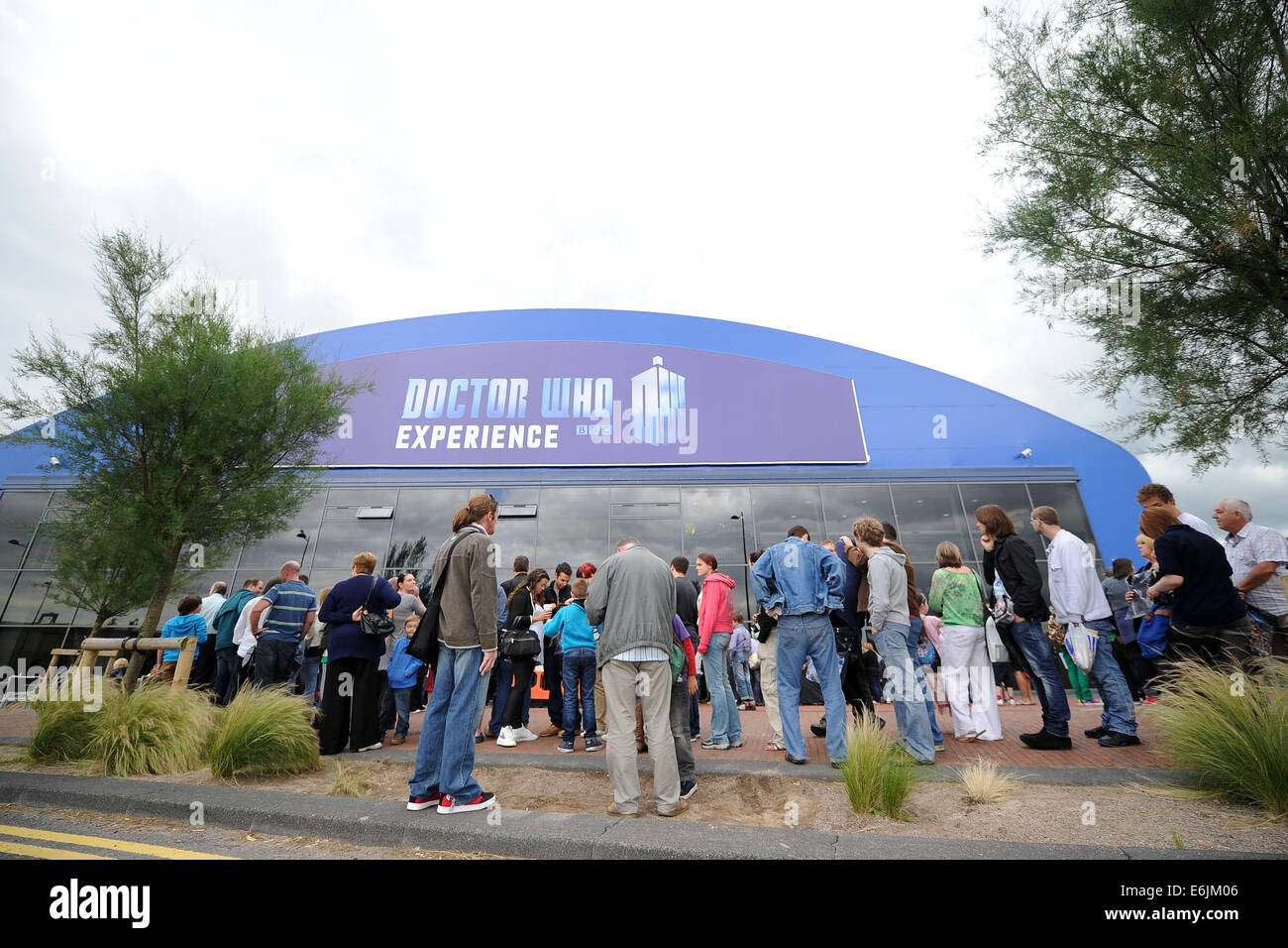 The Doctor Who Experience in Cardiff, Wales. - Stock Image