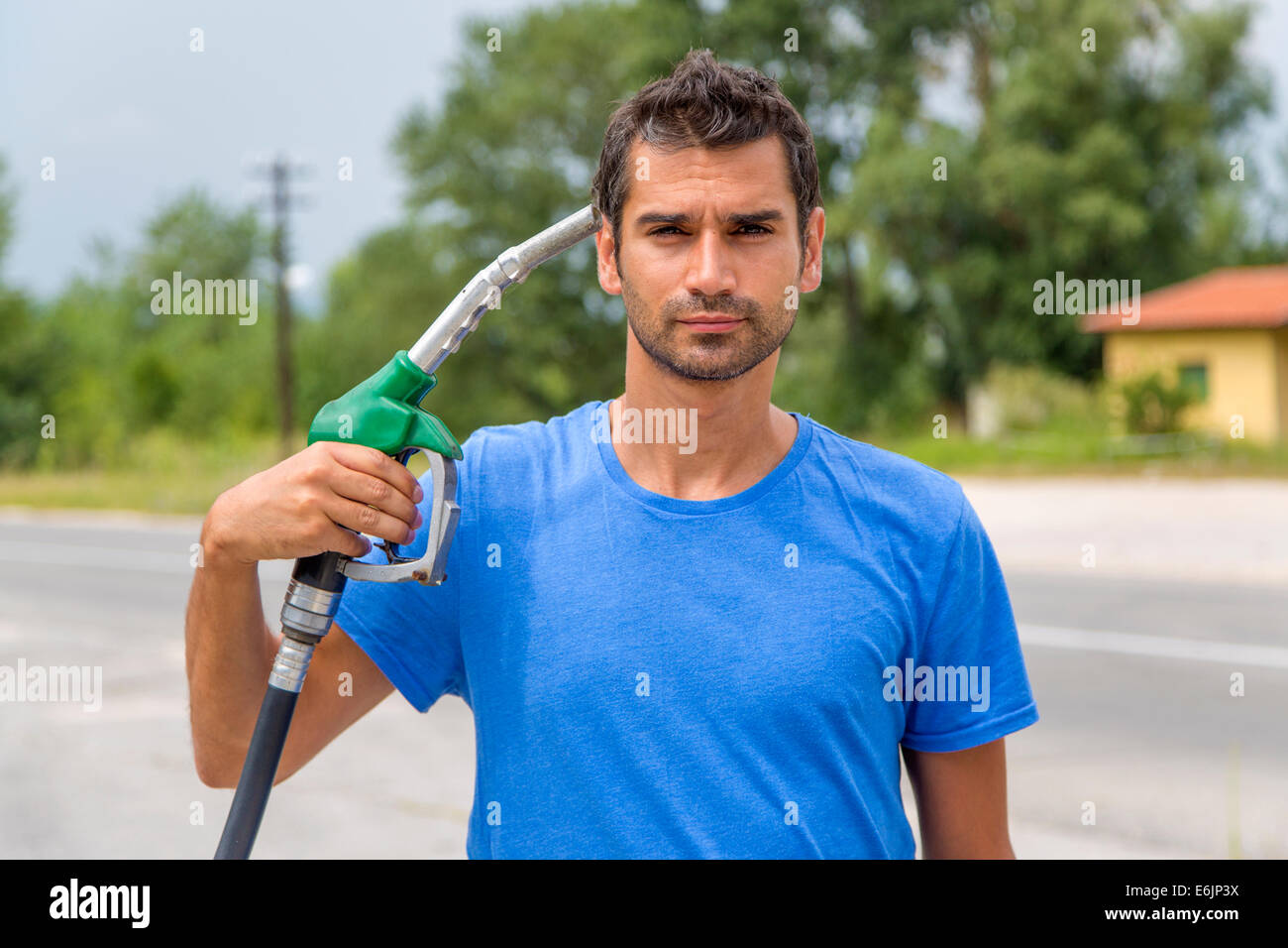 High fuel prices concept - Stock Image