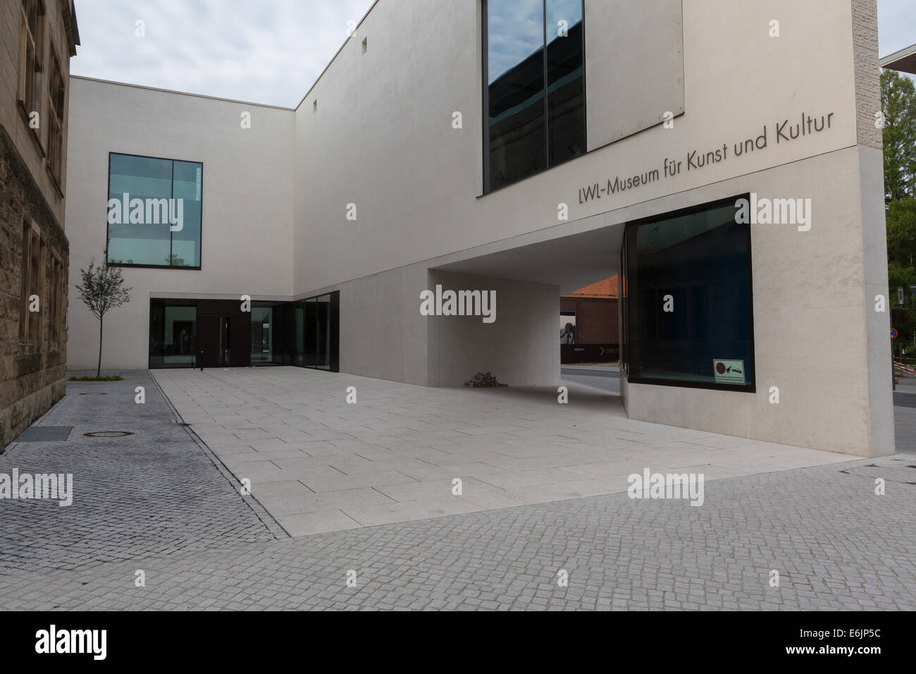 The Museum of Art and Culture in Münster, NRW, Germany - Stock Image