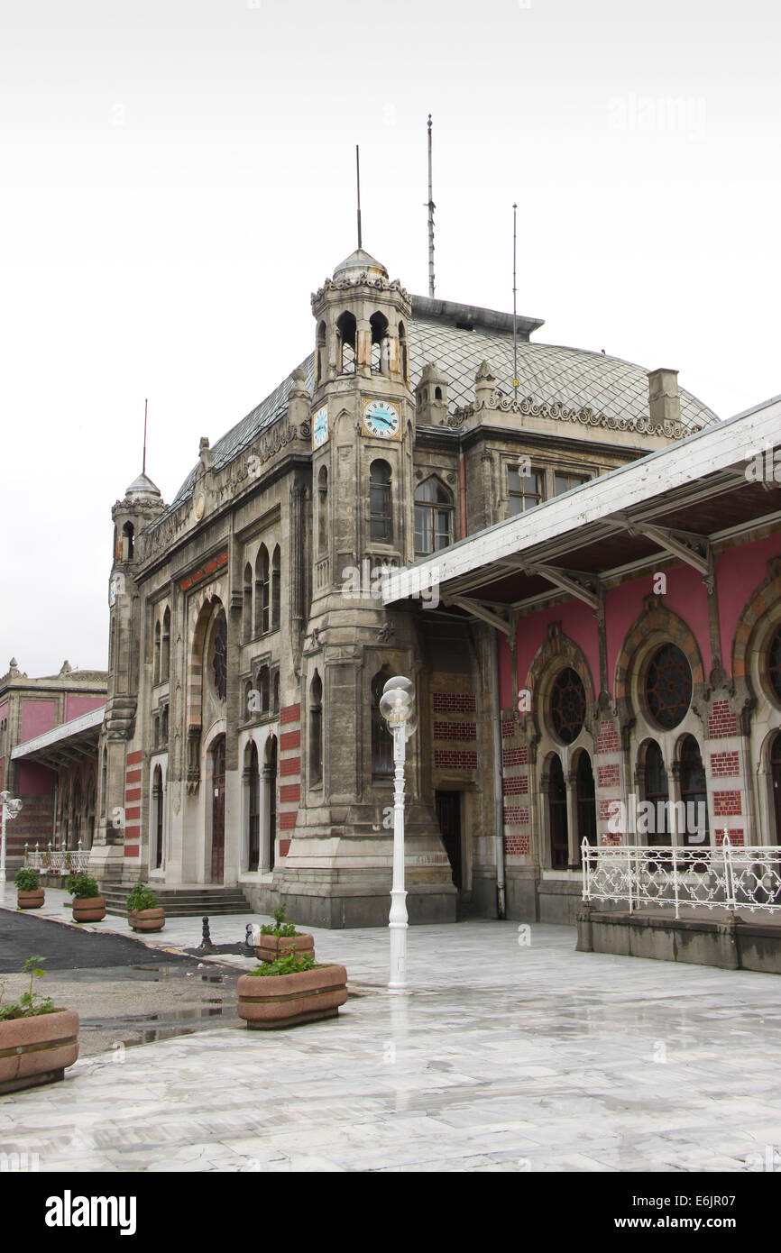 Sİrkeci Train Station - Stock Image