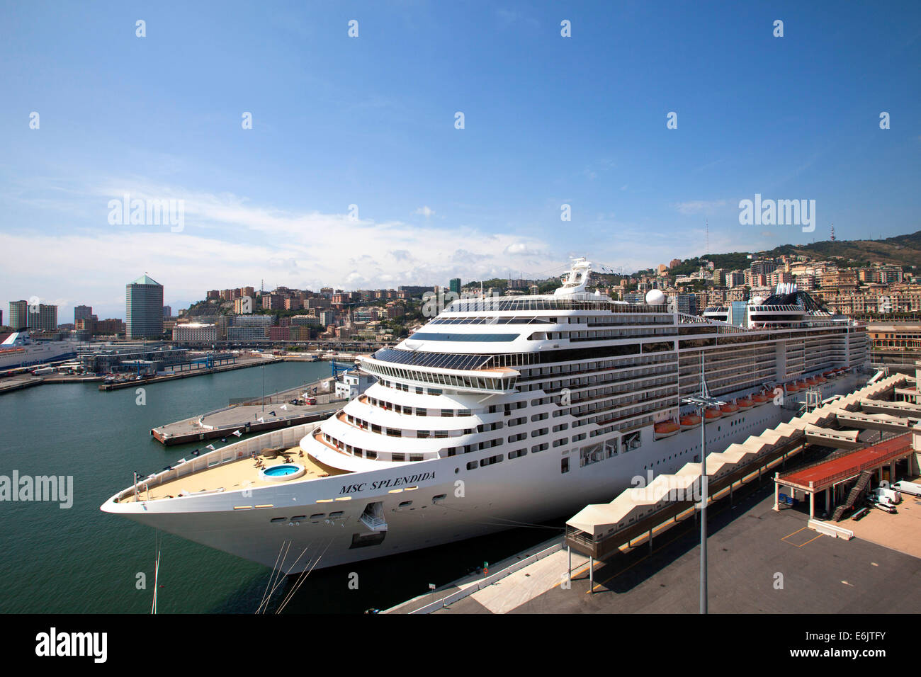 MSC Splendida a Fantasia class cruise ship owned and ...