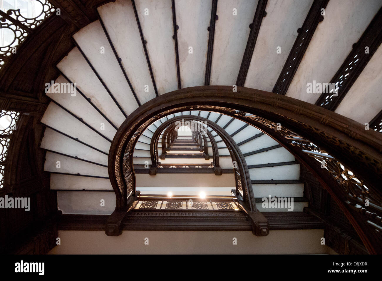 The Brilliant Oriel Staircase At The Rookery, One Of The Most Historically  Significant Buildings In