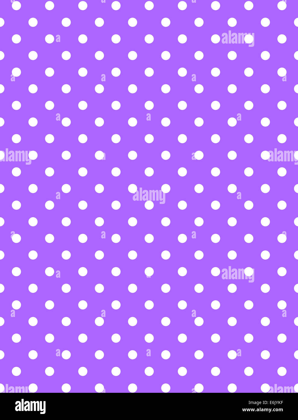 Bright lavender purple background with white polka dots ...