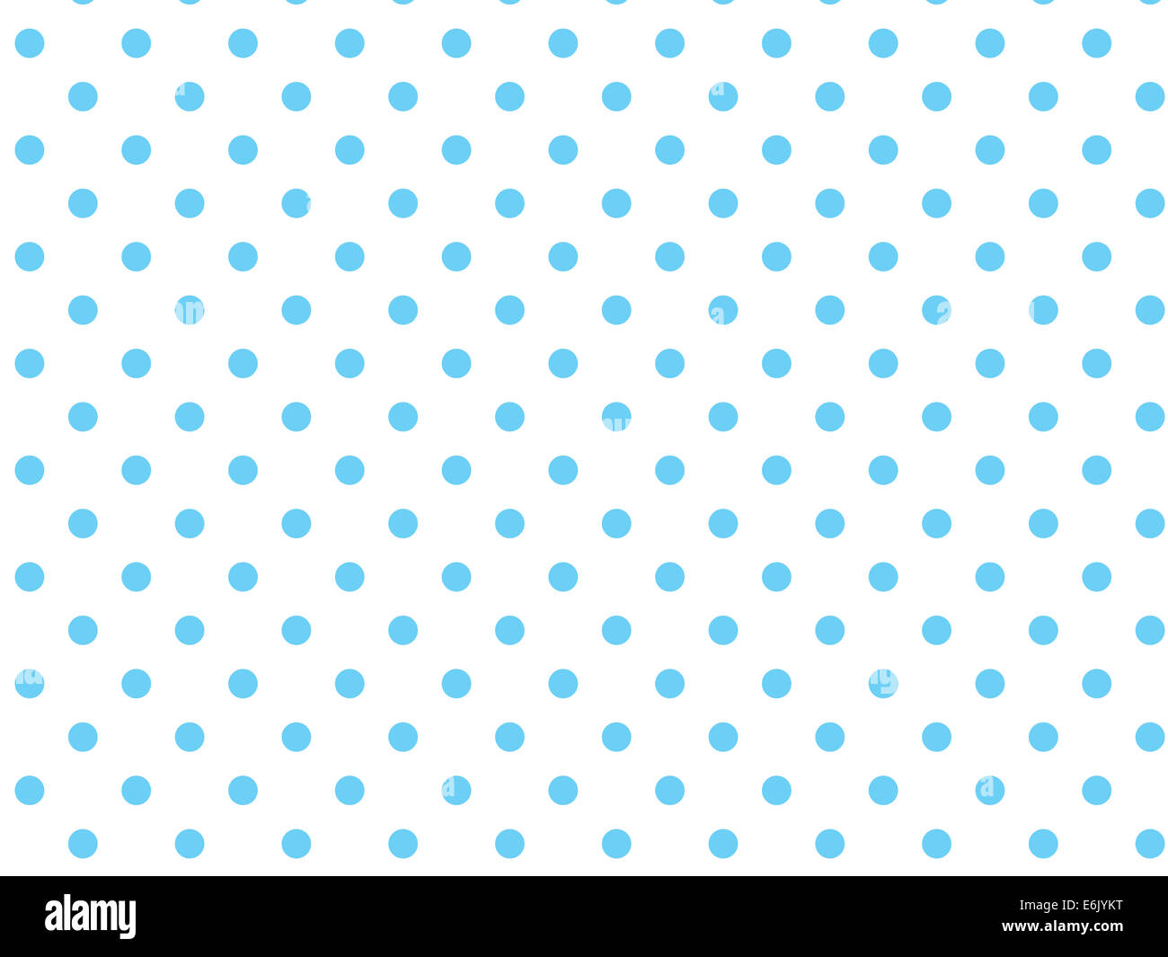 Light Blue And White Polka Dots