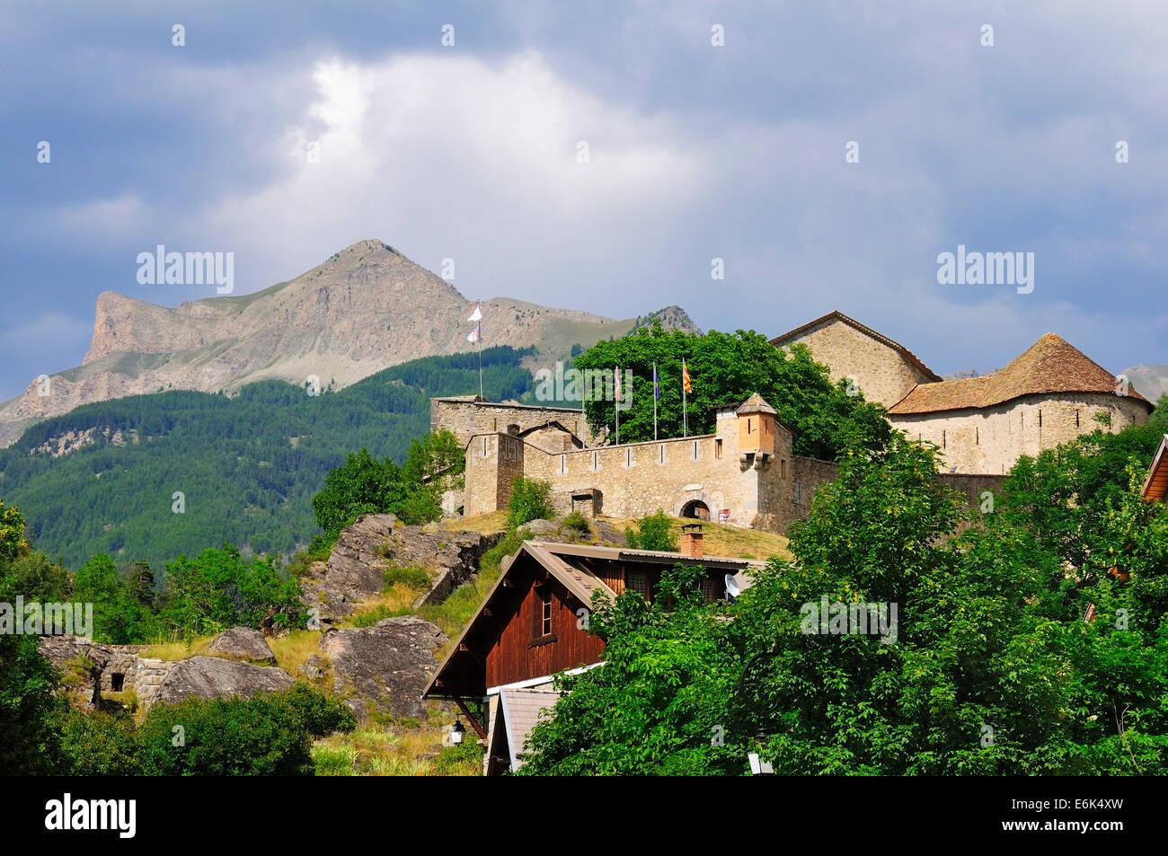 The Fort de Savoie, constructed by Vaban, Colmars, Départment Alpes-de-Haute-Provence, Provence-Alpes-Côte - Stock Image