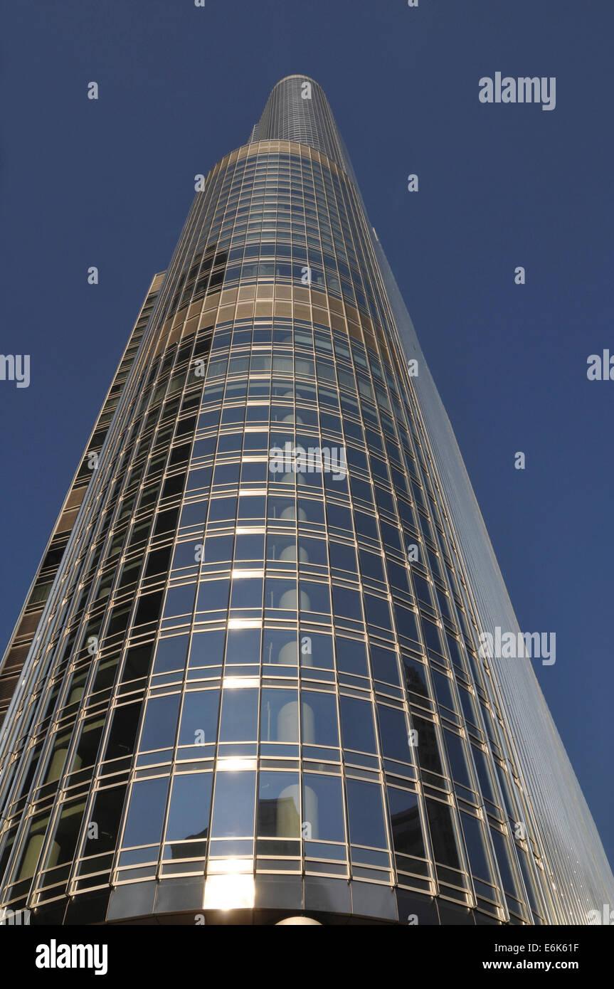 Trump International Hotel and Tower, Chicago, Illinois, United States - Stock Image