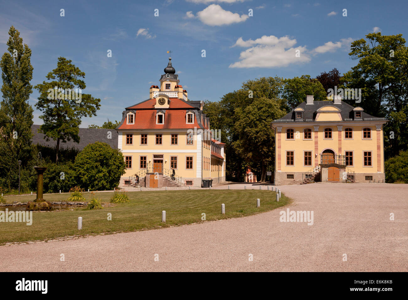 palace Schloss Belvedere, Weimar, Thuringia, Germany, Europe Stock Photo