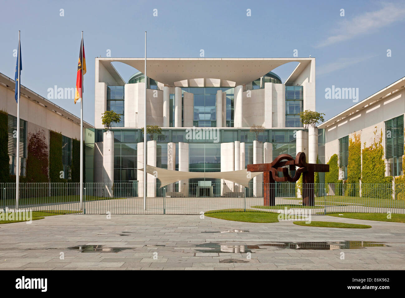 German Chancellery Bundeskanzleramt in Berlin, Germany, Europe Stock Photo