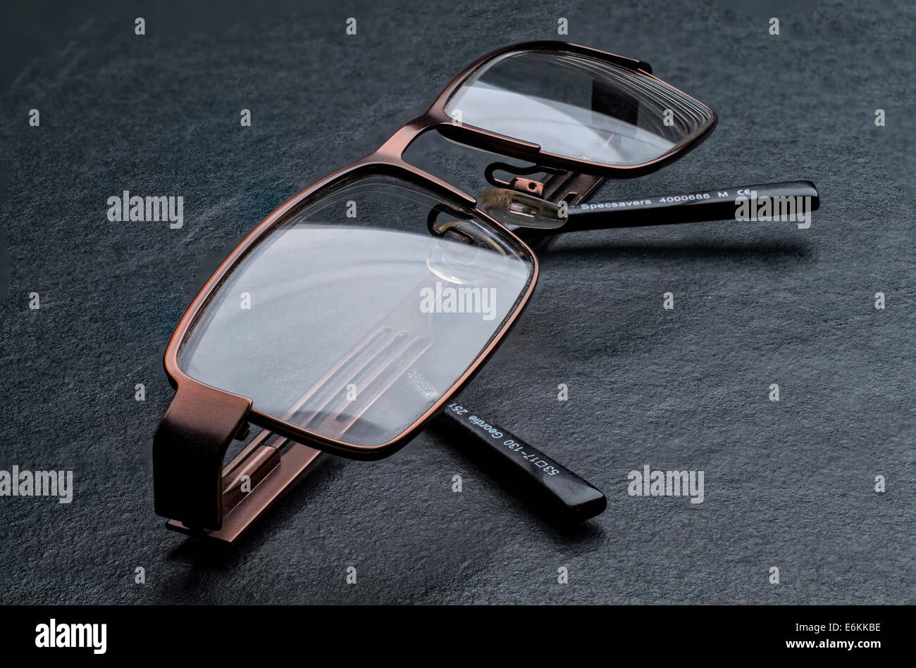 Glasses, spectacles - Stock Image