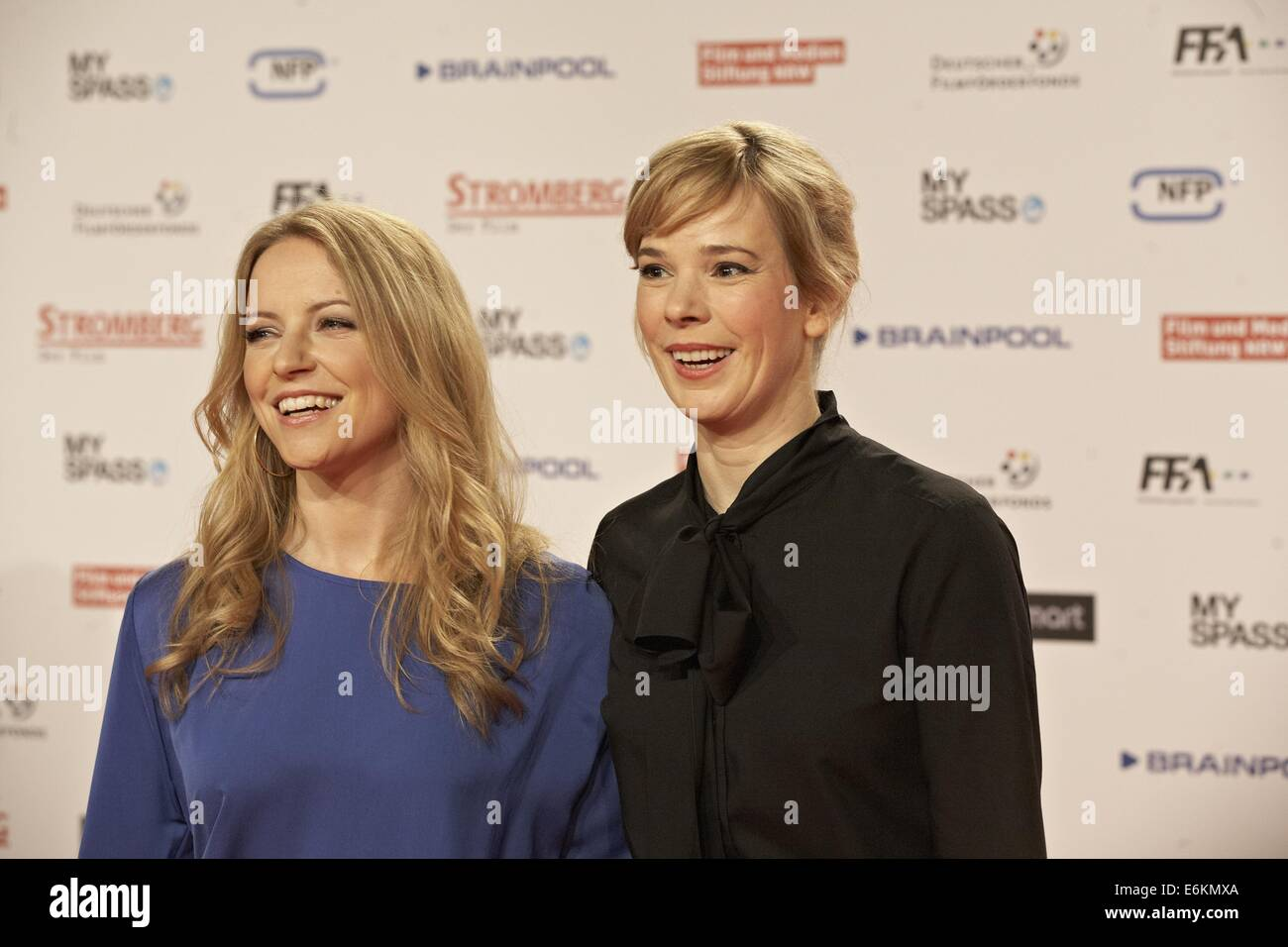 Premiere of 'Stromberg - Der Film' at Cinedom.  Featuring: Diana Staehly,Milena Dreißig Where: Cologne, Germany Stock Photo