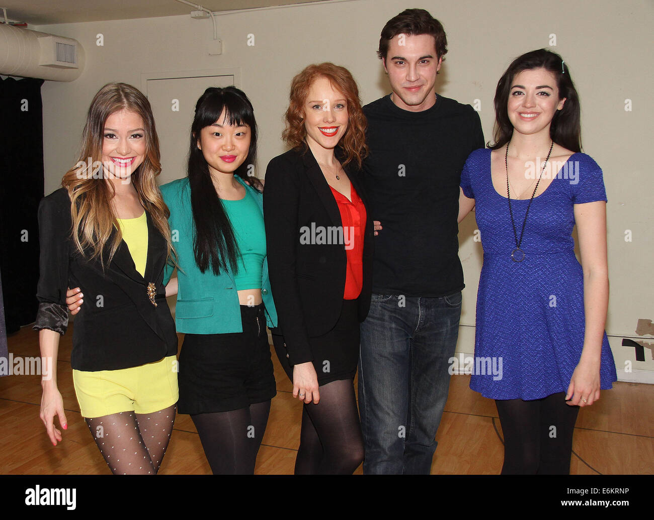 Meet and greet with the cast of heathers the musical held at the meet and greet with the cast of heathers the musical held at the snapple theater rehearsal space featuring elle mclemorealice leejessica keenan wynn m4hsunfo