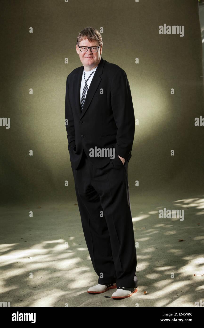 Edinburgh, Scotland, UK. 24th Aug, 2014. James Runcie, the British novelist, documentary film-maker, television - Stock Image