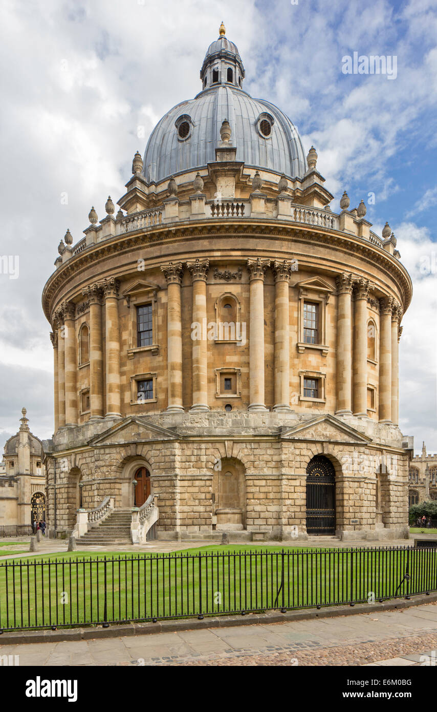 The University of Oxford's Radcliffe Camera building (1748), Oxford, Oxfordshire, England, UK - Stock Image
