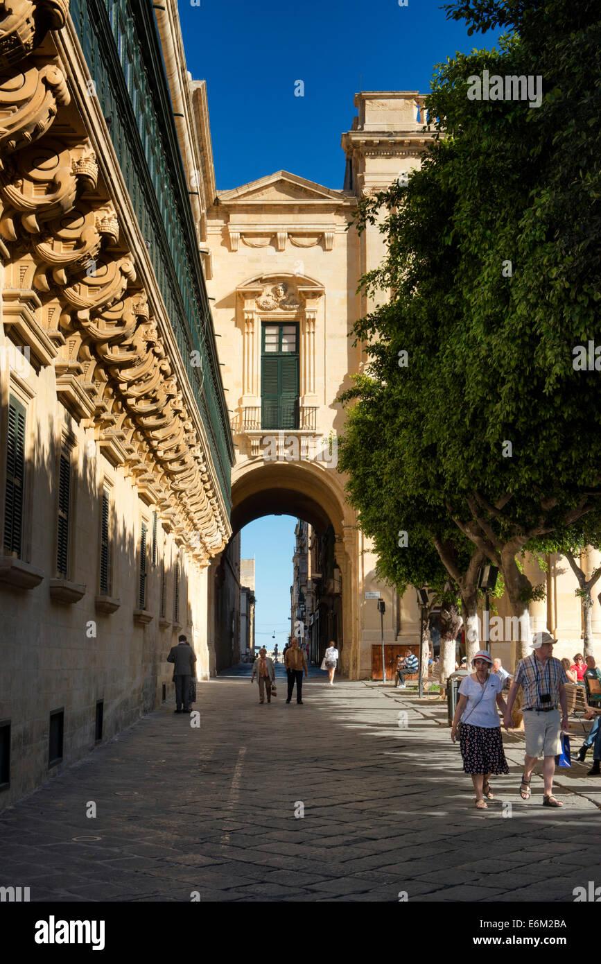 Valletta, Malta - Stock Image