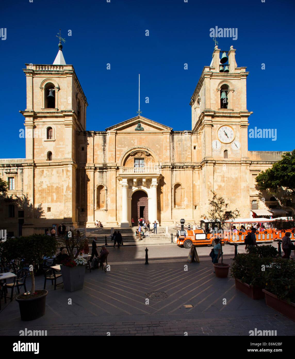 Valletta, Malta ,St. Johns Co. Cathedral ,Valletta - Stock Image