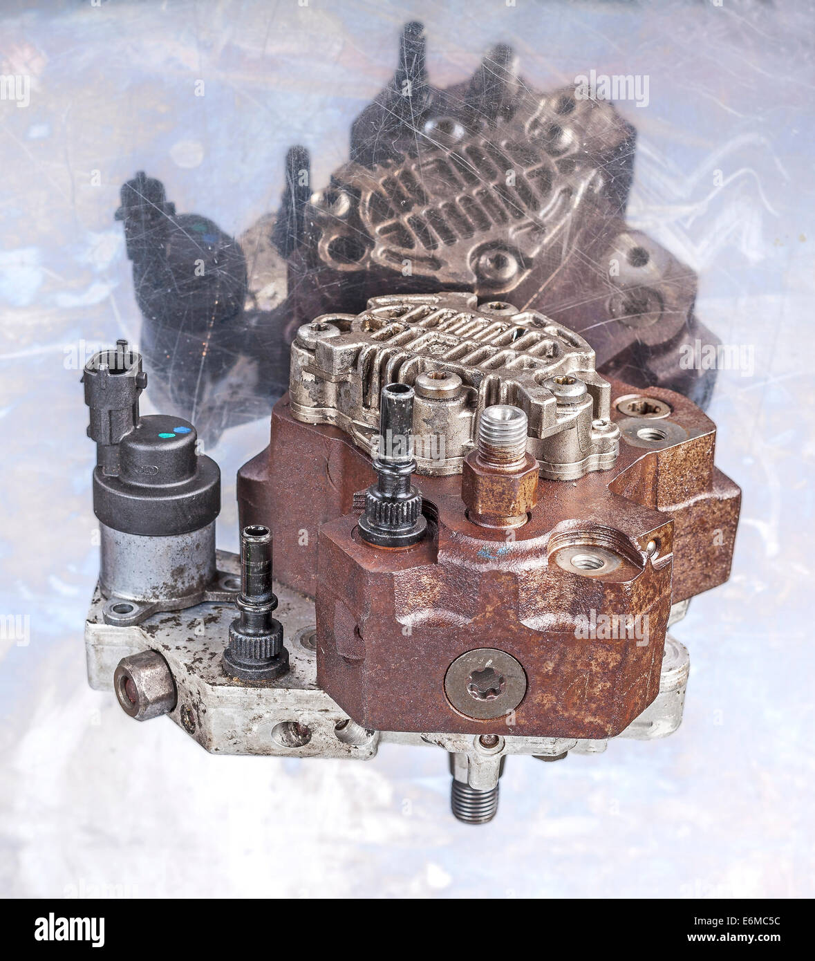 Fuel Injection Pump - Stock Image