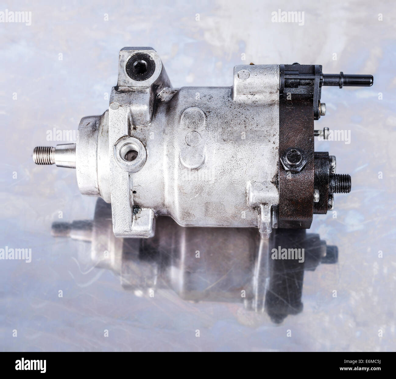 Fuel Injection Pump Stock Photo