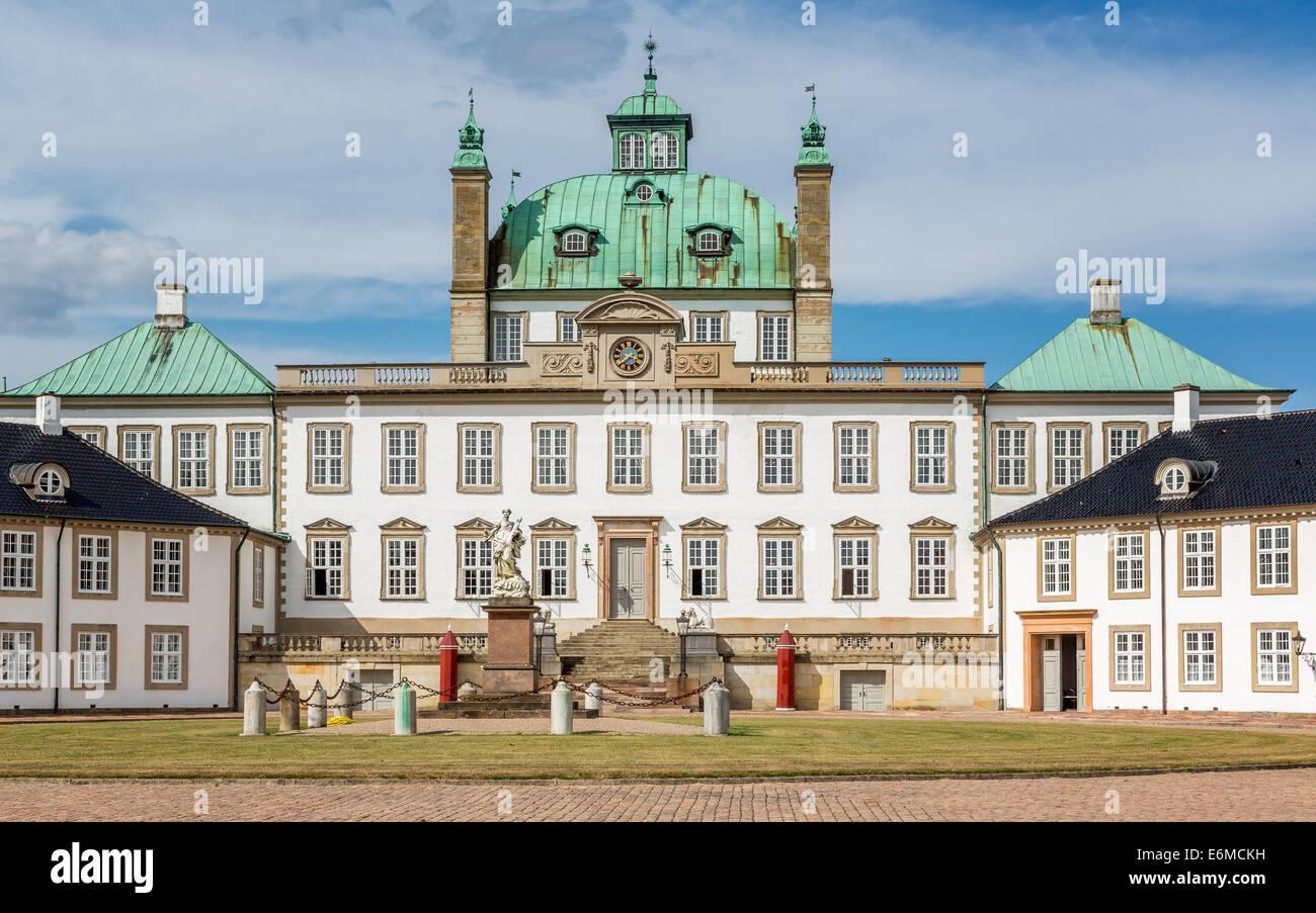Fredensborg Palace, Fredensborg, Zealand, Denmark - Stock Image
