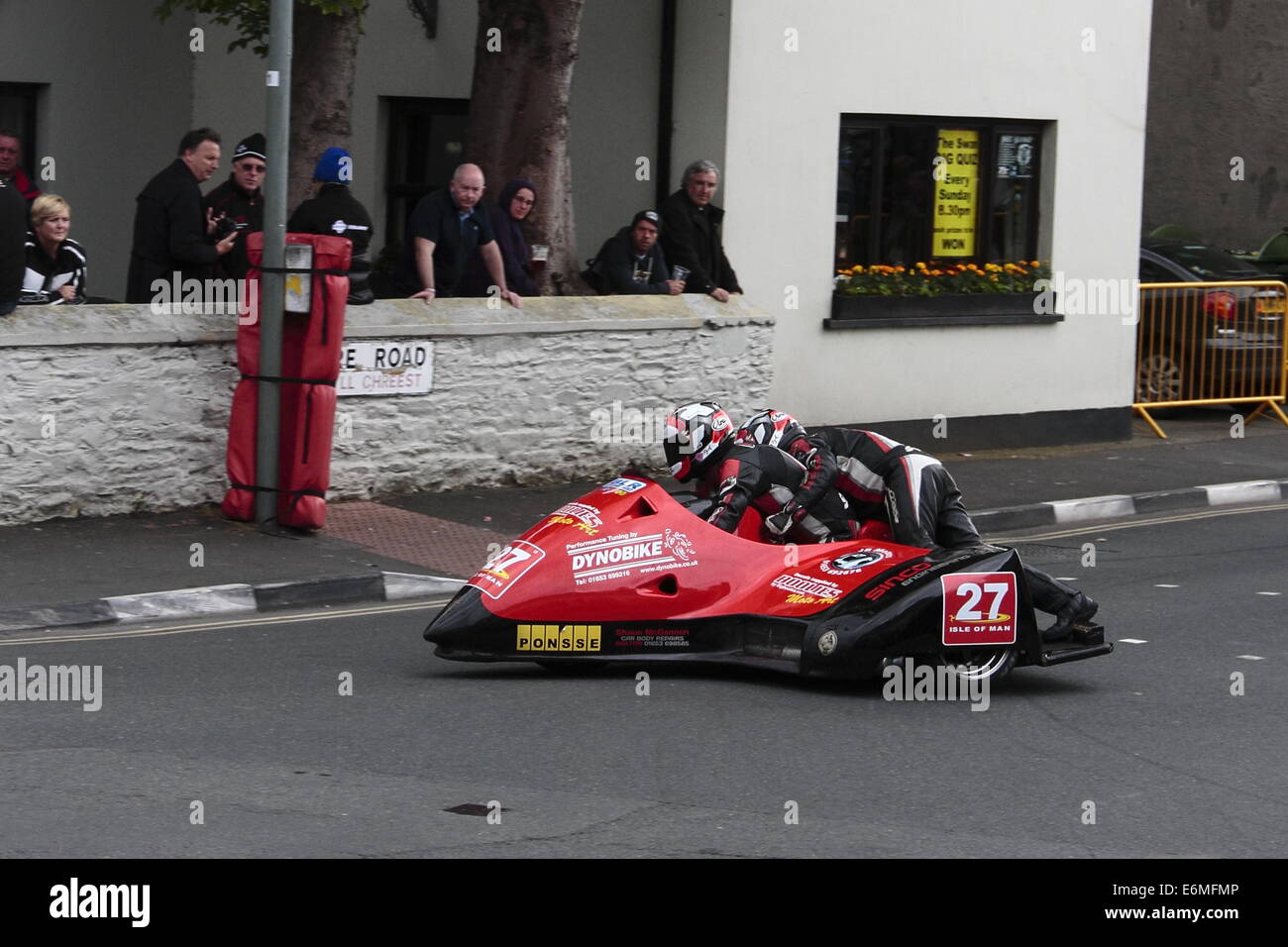 Racing Sidecar Outfit High Resolution Stock Photography And Images Alamy