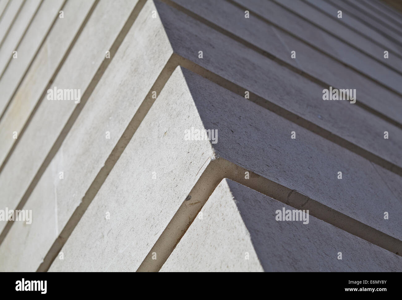 London textures, typical grey stone. - Stock Image