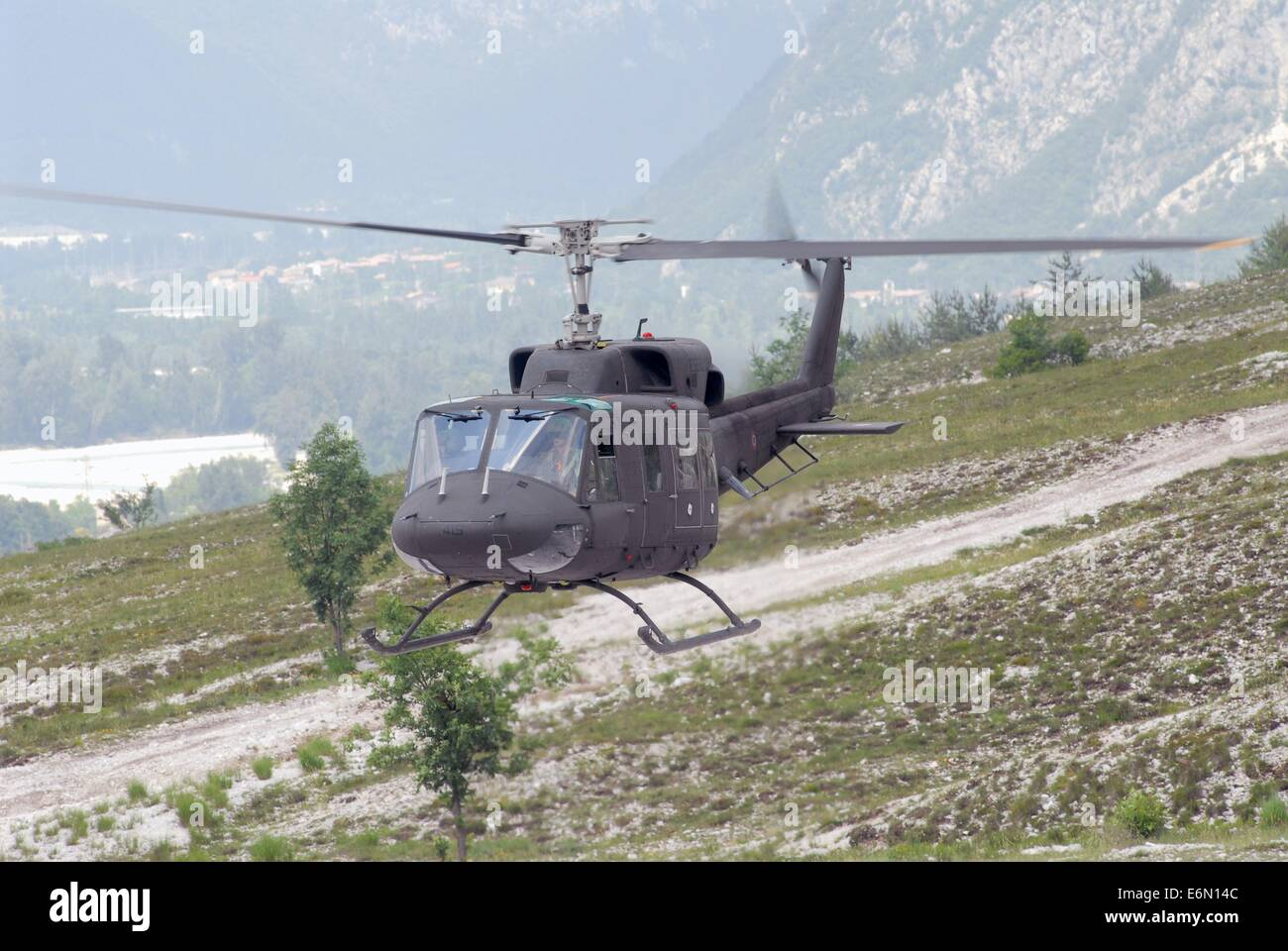 Italian Army, Agusta-Bell AB-212 helicopter Stock Photo