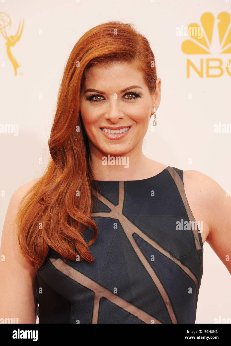 DEBRA MESSING US film actress in August 2014. Photo Jeffrey Mayer - Stock Image
