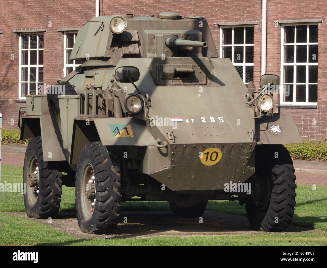 Humber Mark IV with 37mm canon and Besa 792mm used in Nederlands Indie - Stock Image