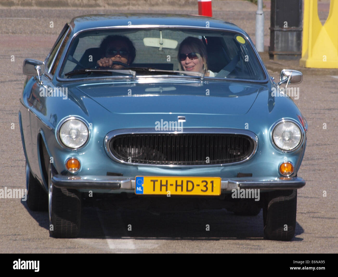 1973 Volvo 1800 ES, dutch licecence registration TH-HD-31 - Stock Image