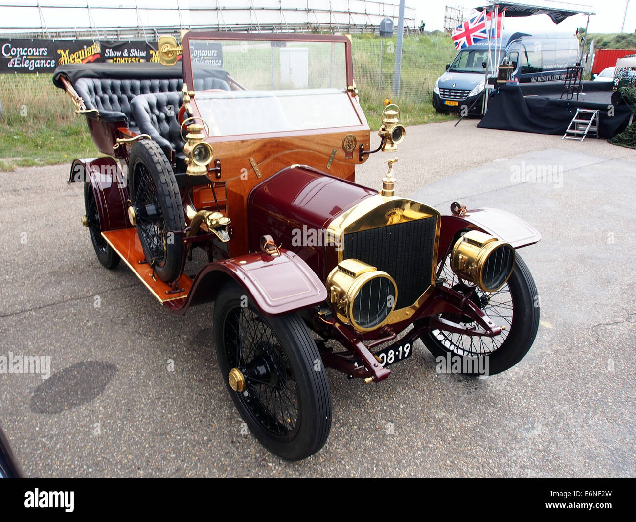 1910 Straker Squire 2800cc, Nr519, pic1 - Stock Image