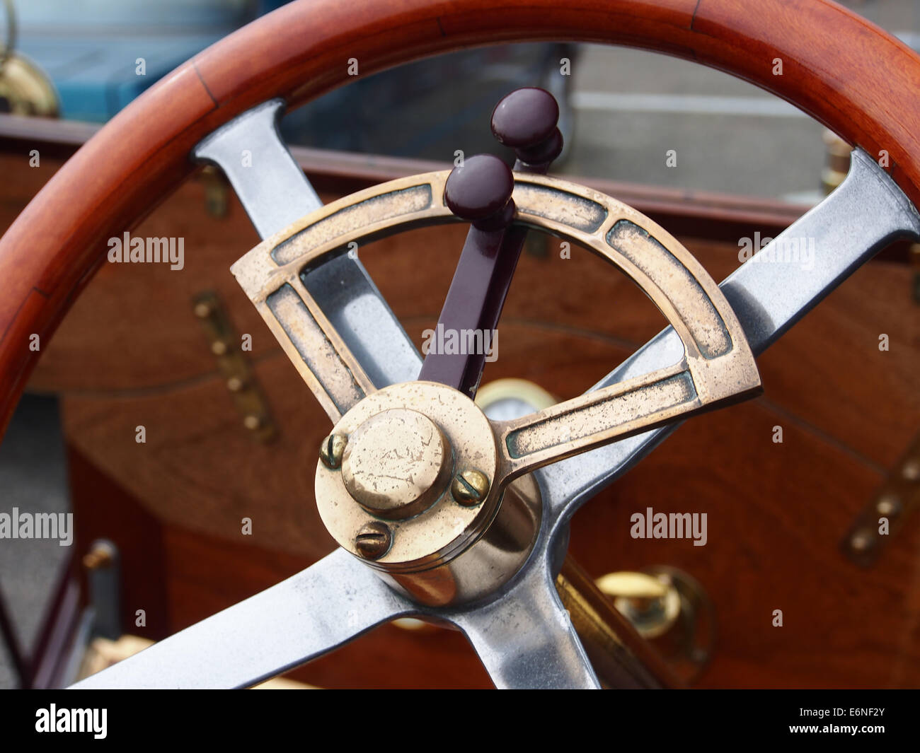 1910 Straker Squire 2800cc, Nr519, pic3 - Stock Image