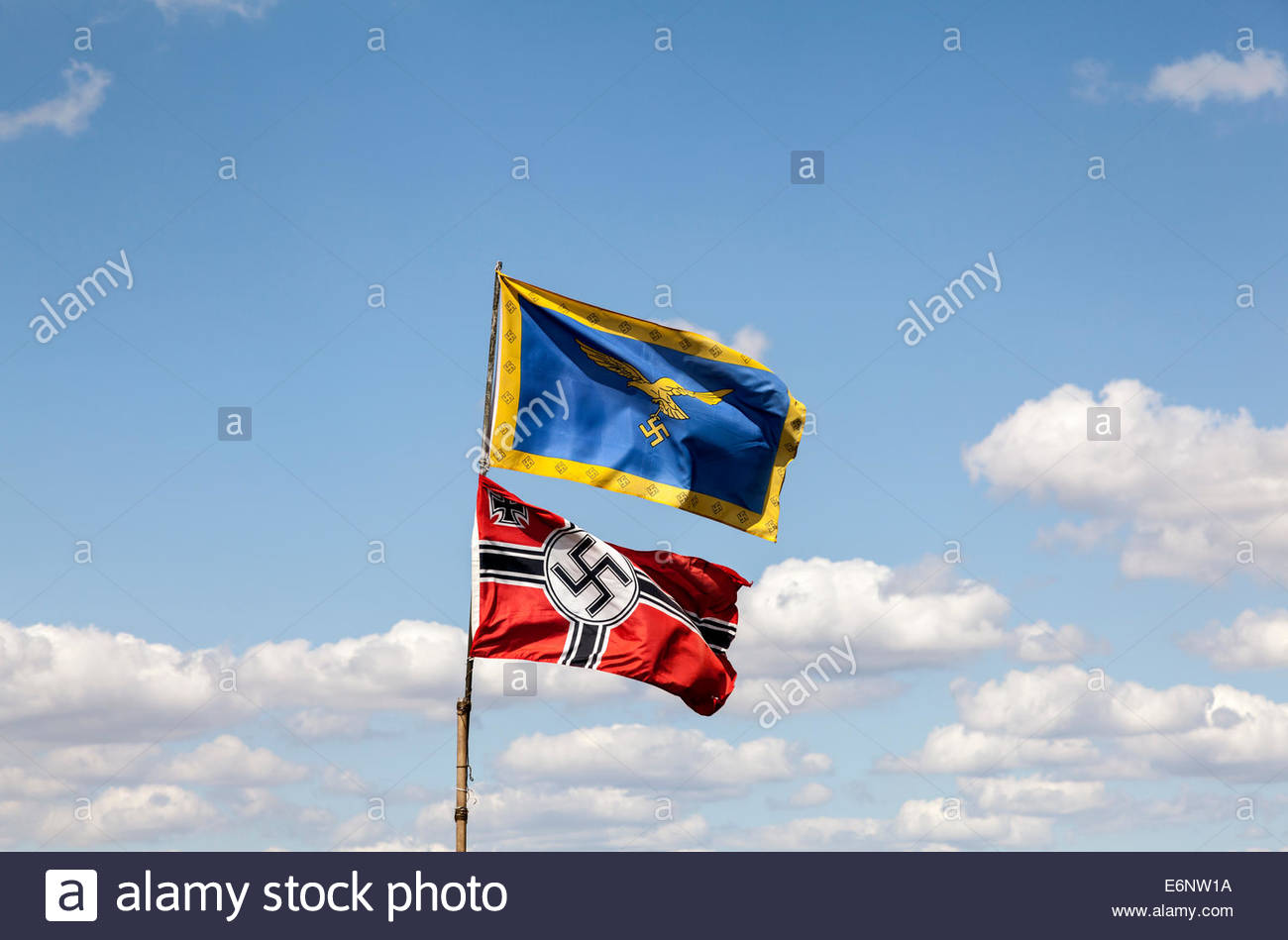 German World War Two Flags  Nazi Germany Battle Flag and