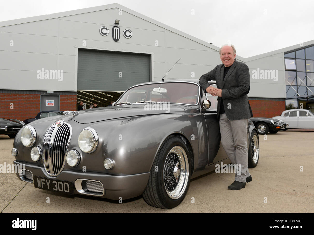 The unique Jaguar Mark 2 redesigned by Ian Callum (Director of ...