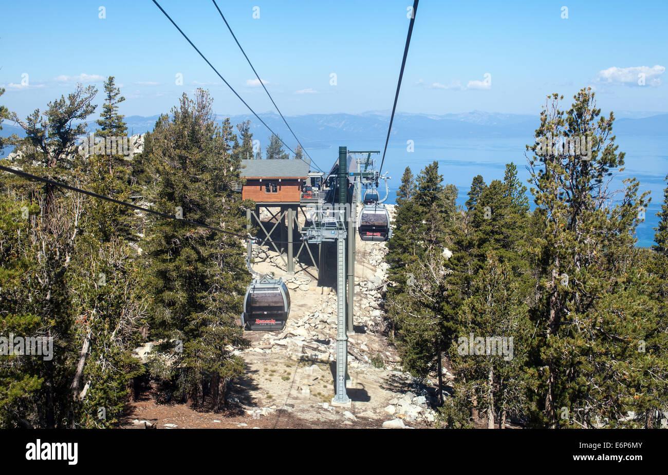lake tahoe gondola stock photos & lake tahoe gondola stock images