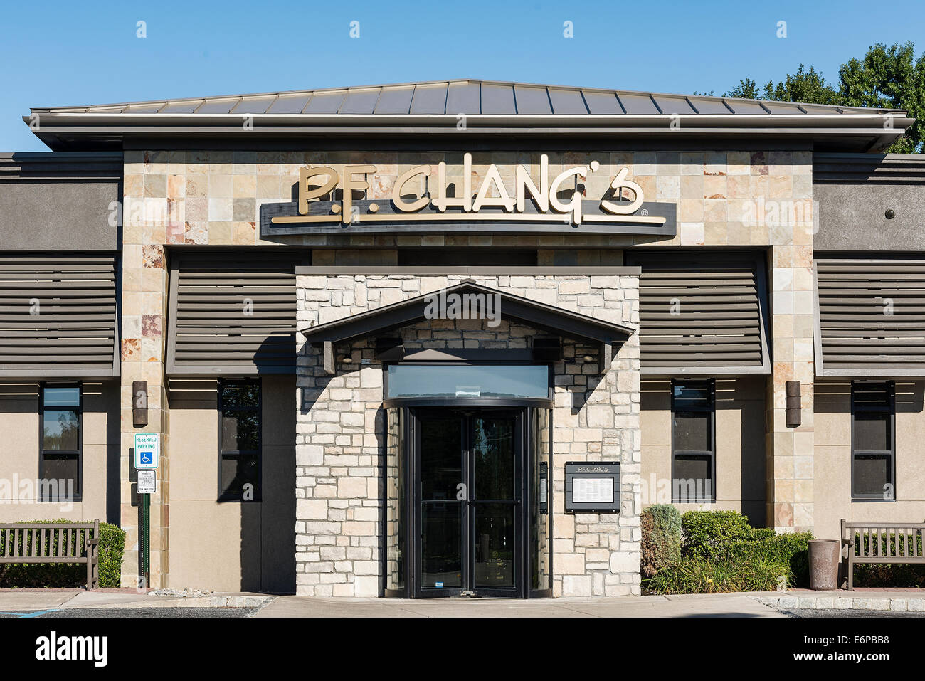 P. F. Chang's China Bistro, Mt. Laural, New Jersey, USA - Stock Image