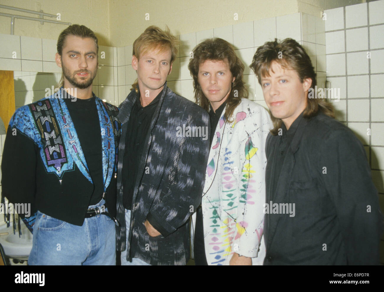 MR MISTER  US rock group about 1986. Photo Rudi Reiner - Stock Image