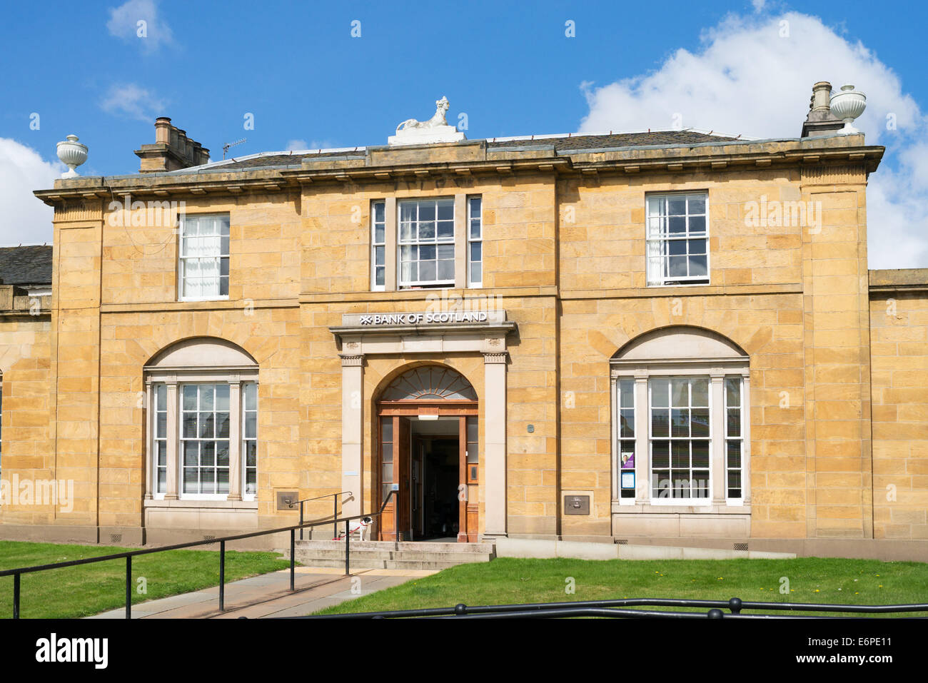 Bank of Scotland  Haddington, East Lothian,  Scotland, Europe - Stock Image