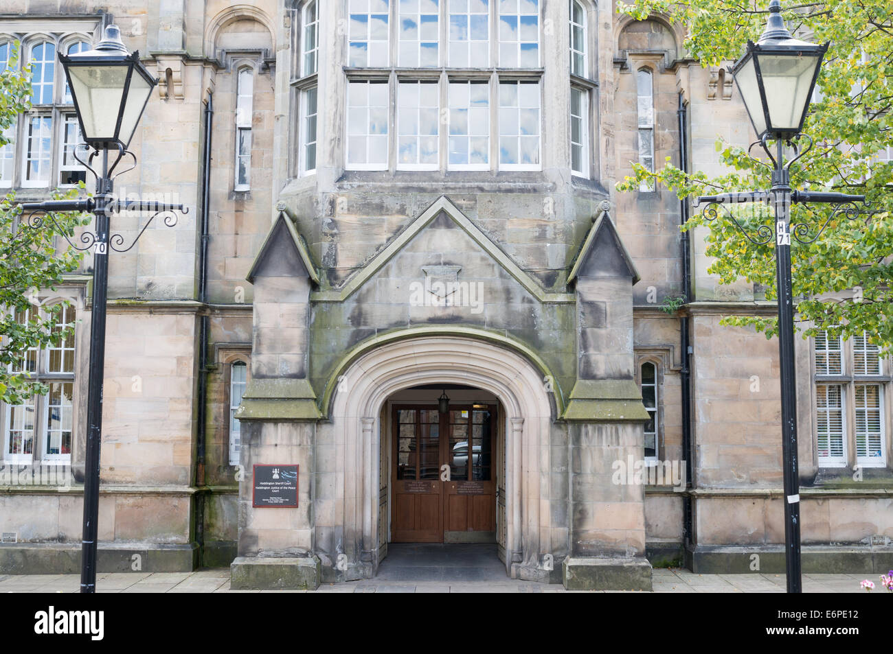 Haddington Sheriff court, East Lothian,  Scotland, Europe - Stock Image