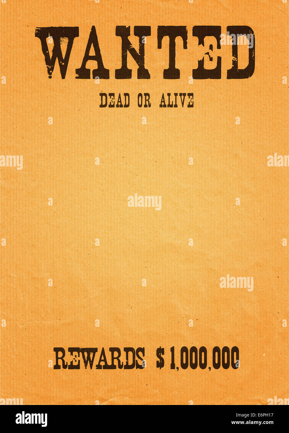 Wanted Template | Wanted Poster Template Stock Photos Wanted Poster Template Stock