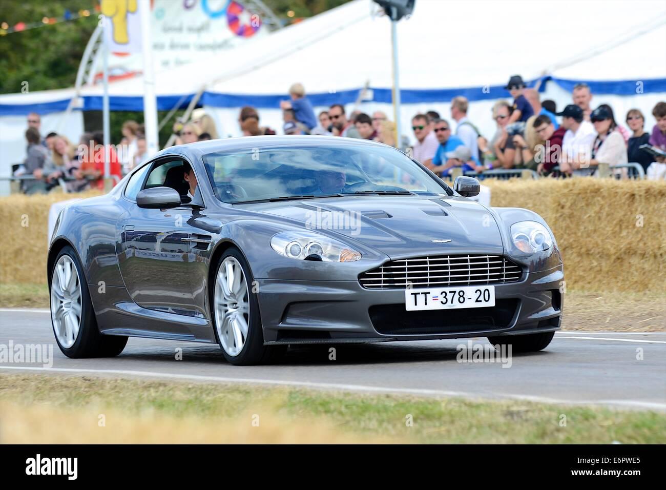 James Bond S Aston Martin Dbs From Casino Royale At Chris