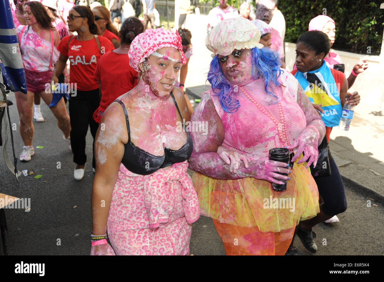 Notting Hill Carnival family day - Stock Image