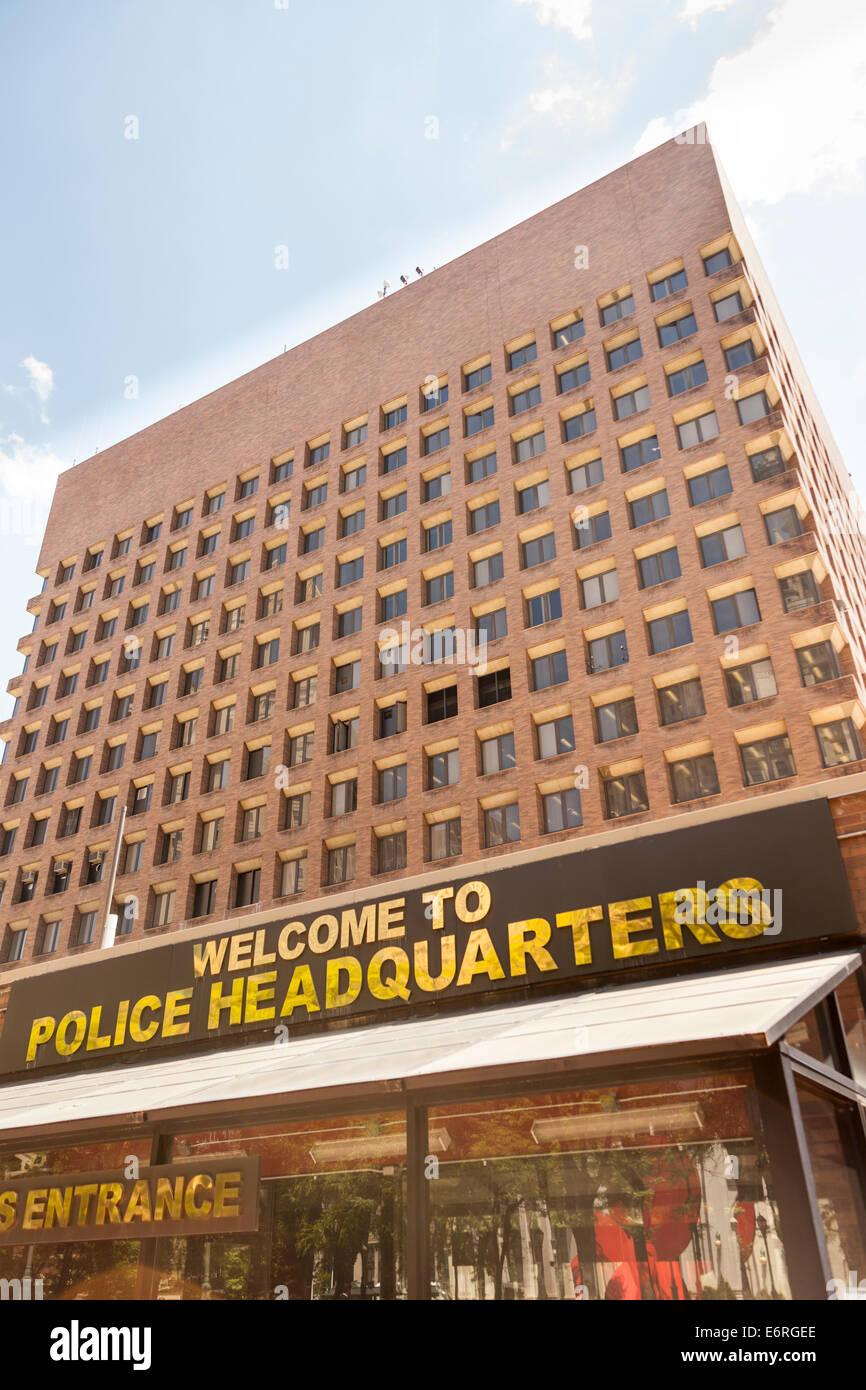 New York City Police Headquarters, 1 Police Plaza, Manhattan, New York City, New York, USA