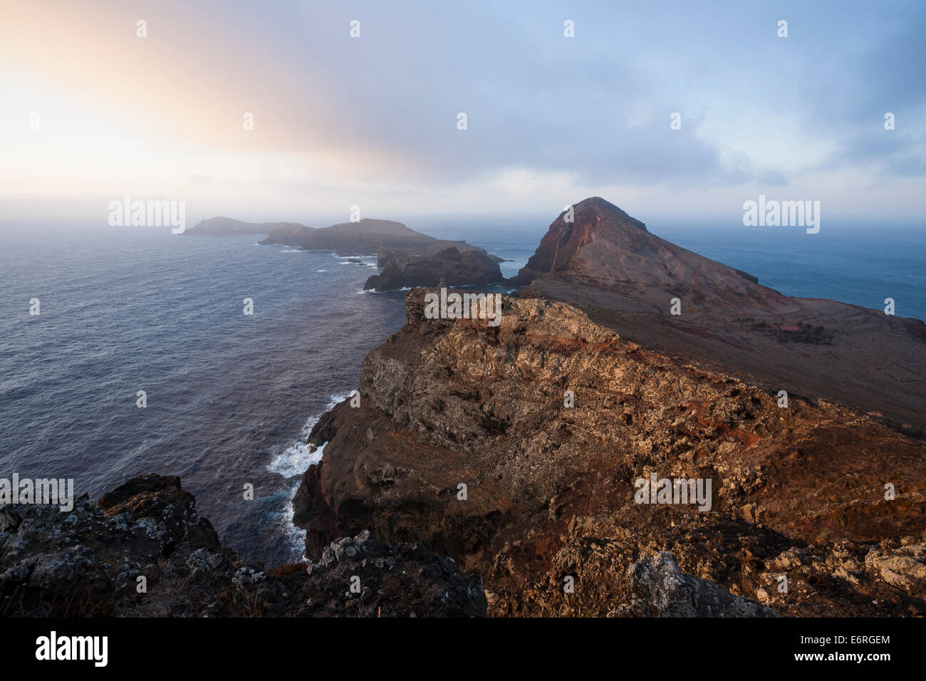 Ponta de São Lourenço, the eastern horn of Madeira Island. - Stock Image